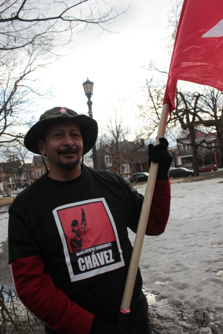 Canadienses despiden al Comandante Hugo Chávez - 08
