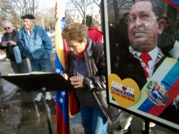 Canadienses despiden al Comandante Hugo Chávez - 03