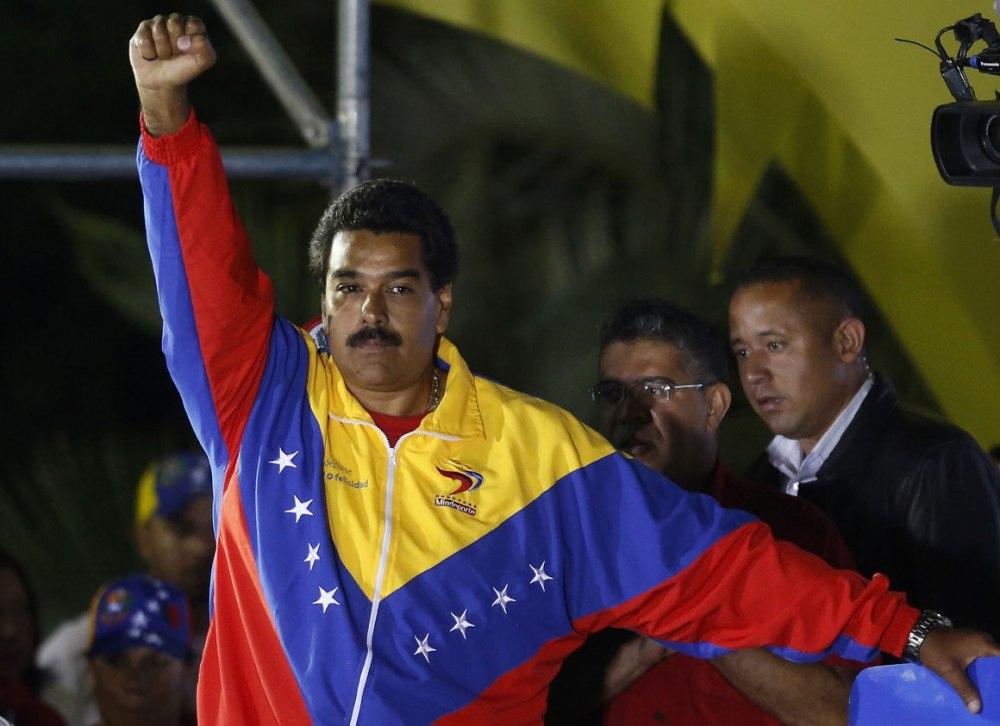 Nicolas Maduro WIN 2013