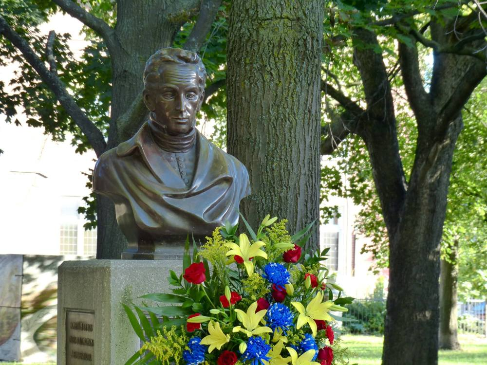 Simon Bolivar and Hugo Chavez's birthday in Toronto 01