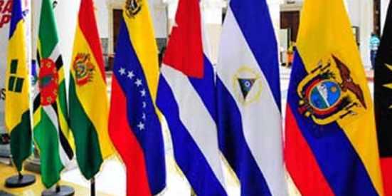 ALBA flags