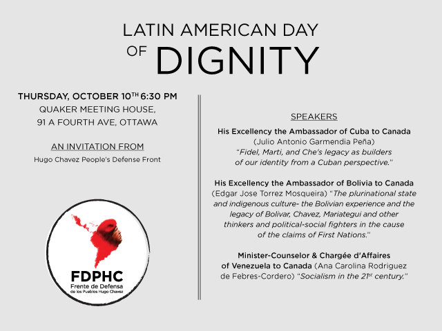 Latin American day of Dignity