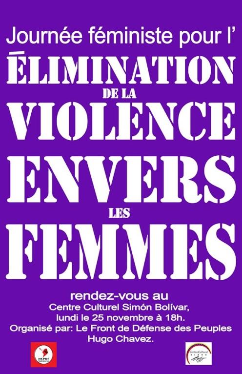 elimination de la violence