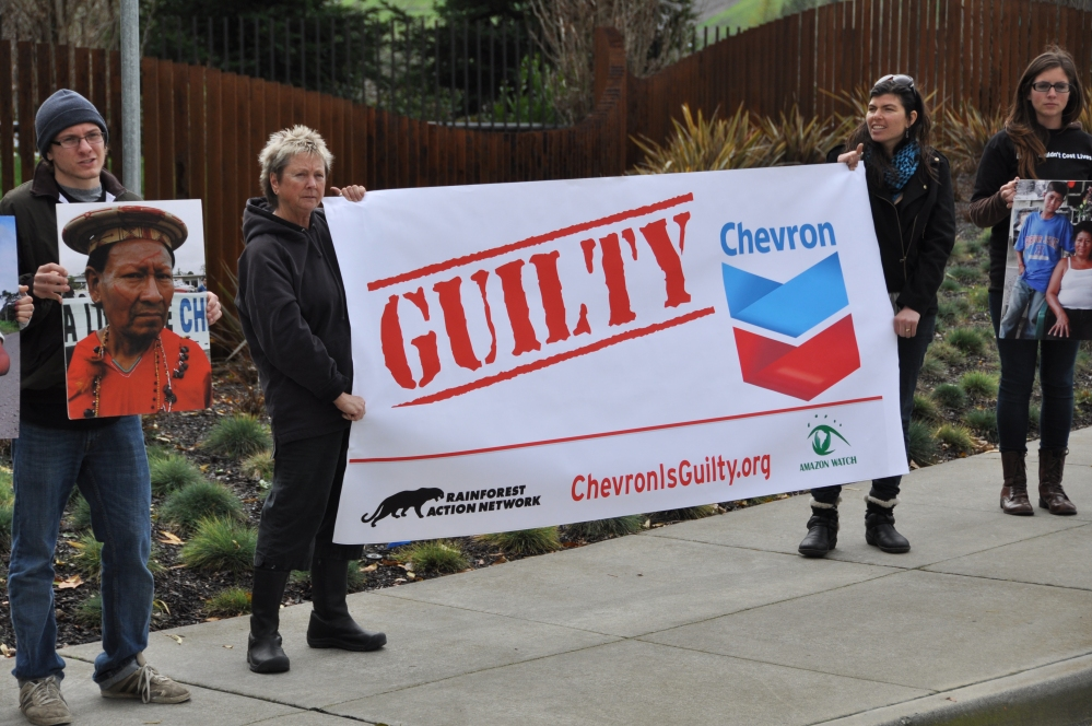 Chevron guilty