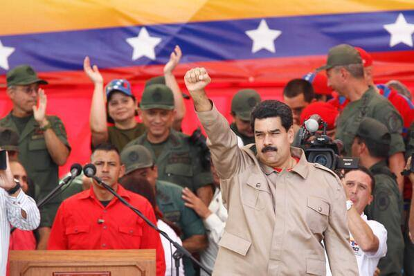 Government of President Maduro criticized ‪U.S.‬ policy.