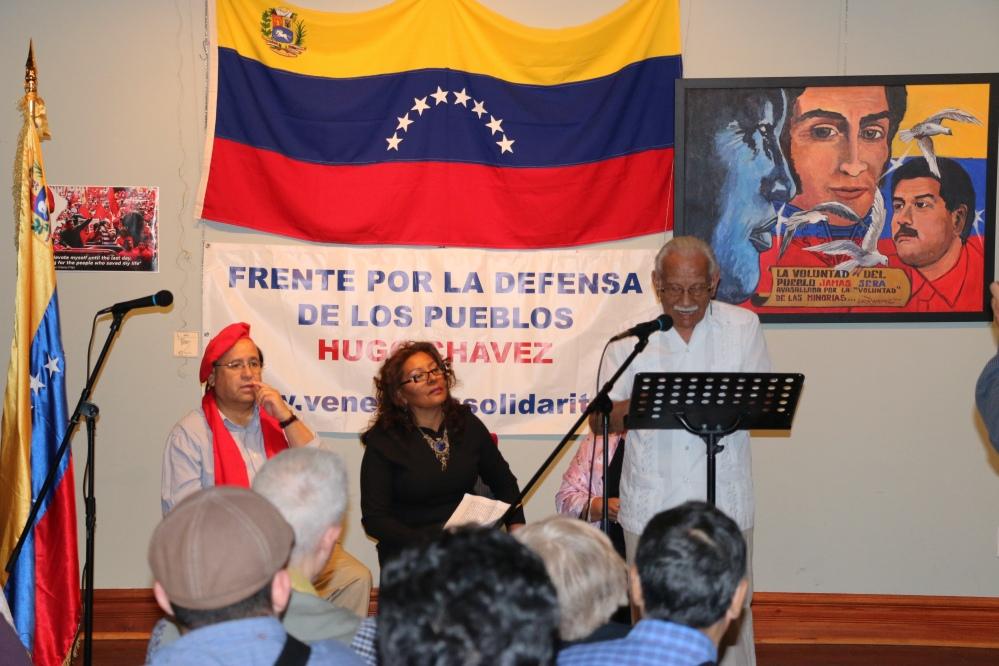 Theatre play about #HugoChavez legacy by Director: José Castro Pozo, performed by: Rosa Calderón, Rene Melo, José Bendezú y Renée Castro Pozo.