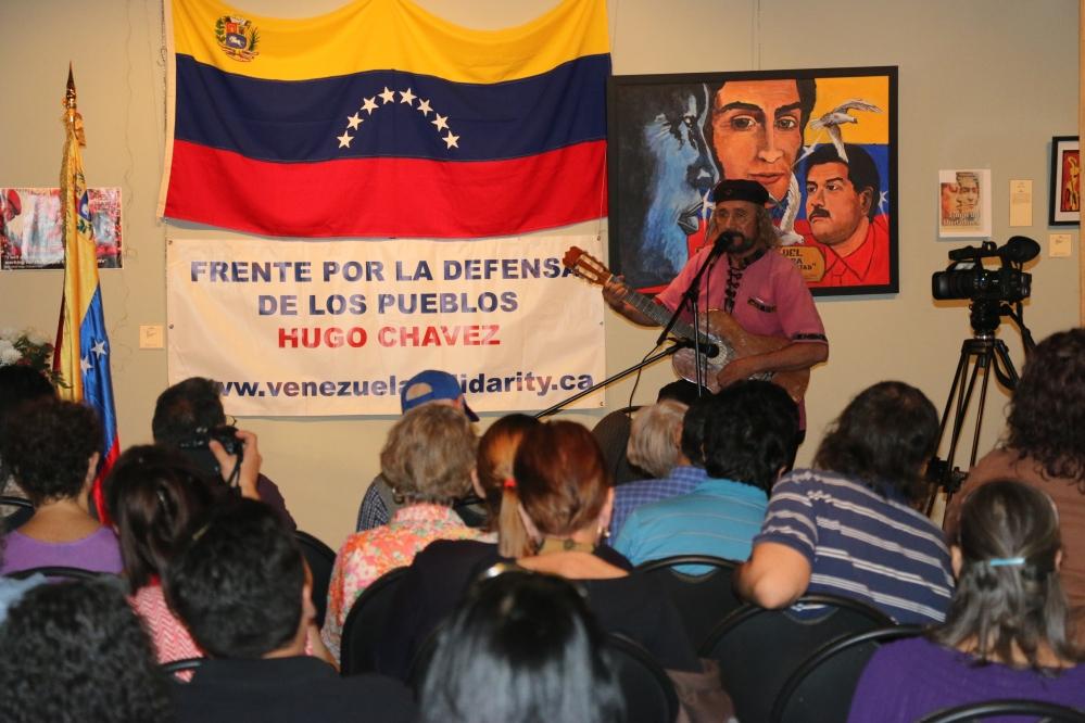 Luis Ramirez, Musician and Painter.