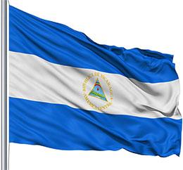 nicaragua-flag-waving-pole-2017