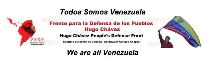 Todos somos Venezuela banner